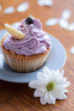 Sweet dessert with buttercream Royalty Free Stock Image