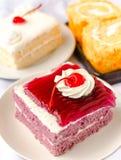 Sweet dessert cake Stock Photos