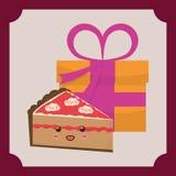 Sweet dessert cartoon. Icon vector illustration graphic design Royalty Free Stock Image