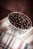 Sweet dessert with currants Royalty Free Stock Photos