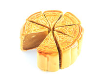 Sweet dessert Durian Monthong Mooncake Royalty Free Stock Photography