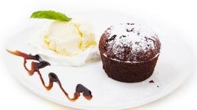 Sweet dessert Stock Images