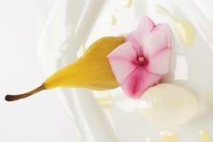 Sweet dessert on platter Royalty Free Stock Photography