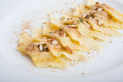 Sweet dessert ravioli Royalty Free Stock Image
