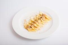 Sweet dessert ravioli Stock Photos