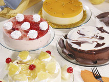 Sweet desserts Royalty Free Stock Photography