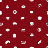 Sweet desserts pattern eps10 Royalty Free Stock Image
