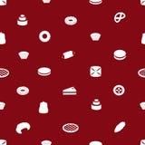 Sweet desserts pattern eps10 Royalty Free Stock Image
