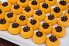 Sweet desserts, tradition dessert of Thailand. Stock Image