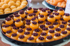 Sweet desserts, tradition dessert of Thailand. Royalty Free Stock Photo