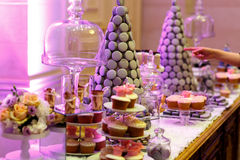 Sweet desserts Stock Images