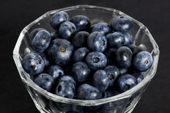 Sweet details of blueberry Royalty Free Stock Image