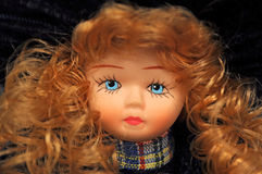 Sweet doll face Royalty Free Stock Photos
