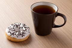 The sweet donut Royalty Free Stock Photography