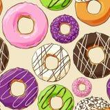 Sweet donut illustration Stock Photos
