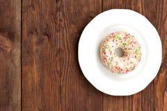 Sweet donut Stock Image