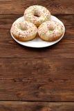 Sweet donut Stock Photo