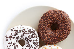Sweet donuts Royalty Free Stock Photos