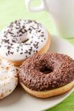 Sweet donuts Royalty Free Stock Photos
