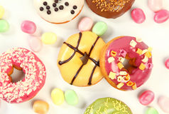 Sweet donuts Royalty Free Stock Image