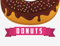 Sweet donuts design Stock Image