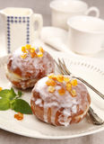 Sweet donuts Stock Images