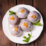 Sweet doughnuts Stock Image