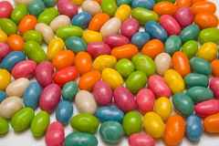 Sweet dragees. Set of sweet dragees of different color. A background Royalty Free Stock Photos