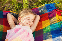 Sweet dream on nature Royalty Free Stock Photography