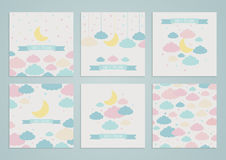Sweet dreams backgrounds Royalty Free Stock Photo