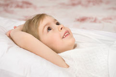 Sweet dreams at bedtime Royalty Free Stock Photography
