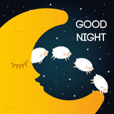 Sweet dreams design. Royalty Free Stock Photo