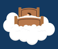 Sweet dreams design. Royalty Free Stock Image