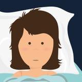 Sweet dreams design. Stock Image