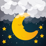 Sweet dreams design. Royalty Free Stock Photography