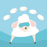 Sweet dreams design. Sweet dreams design, vector illustration eps 10 Royalty Free Stock Photos