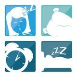 Sweet dreams design. Royalty Free Stock Photos