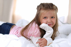 Sweet dreams and good morning concept Royalty Free Stock Images
