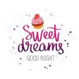 Sweet dreams. Good night Stock Photo