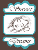 Sweet Dreams Royalty Free Stock Image