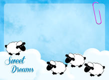 Sweet dreams Royalty Free Stock Photography
