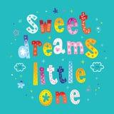 Sweet dreams little one Stock Image