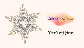 Sweet dreams logo Stock Photos