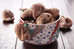 Sweet dried figs Royalty Free Stock Photography