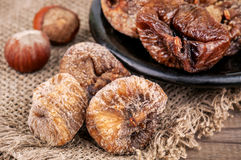 Sweet dried figs Royalty Free Stock Images