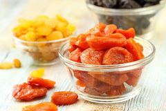 Sweet dried fruit Stock Photos