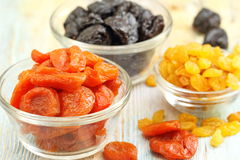 Sweet dried fruit Stock Image