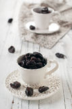 Sweet dried plum Stock Images