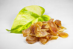 Sweet dried tangerines Royalty Free Stock Photo