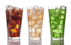 Sweet drinks royalty free stock photos